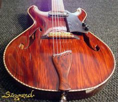 Siegmund custom handcarved Archtop Guitars