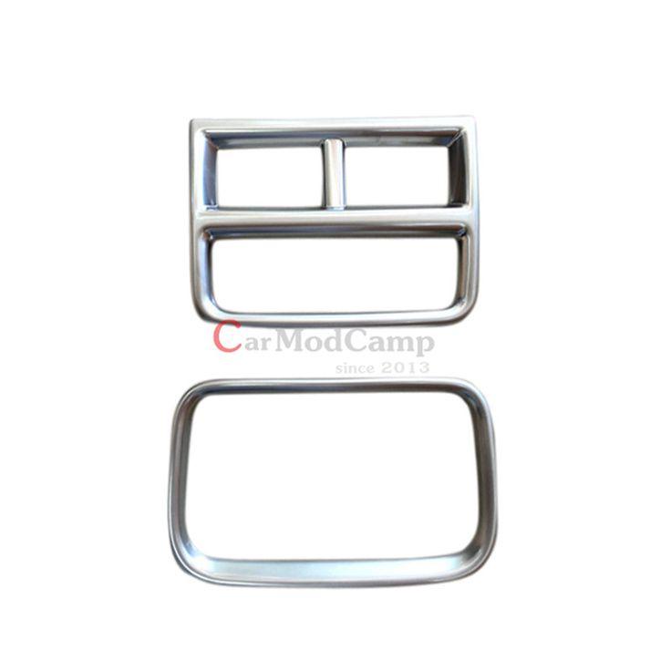 Хром Подлокотник Коробка Задние Вентиляционные отверстия + USB Зарядное Гнездо Декоративная Рамка Крышка Для Cadillac XT5 2016 2017 стайлинга Автомобилей аксессуары!