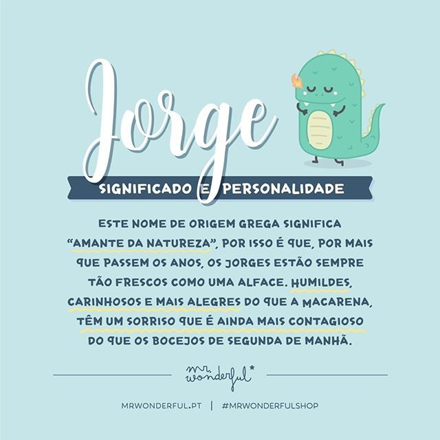 Wonderful Names Jorge Nomes Quotes Frases Mrwonderful