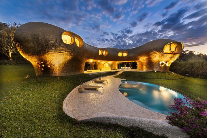 ' Amoeba House ' by Javier Senosiain ➕ Brazil