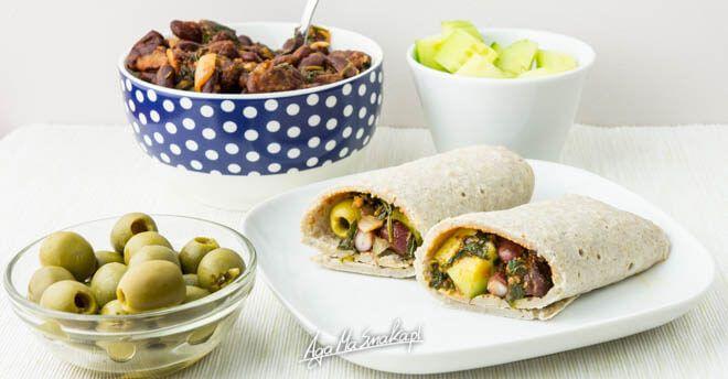 bezglutenowe i wegańskie naleśniki domowa tortilla prosty przepis