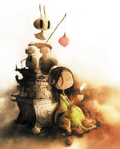 """""""ECO"""" Tome 3 Un hommage aux contes d'Andersen et des frères Grimm écrit par Guillaume Bianco, et lumineusement illustré par Jérémie Almanza !"""
