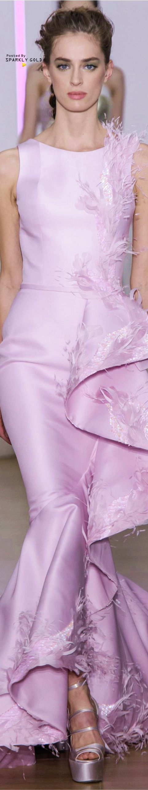 Georges Chakra Spring 2018 Couture