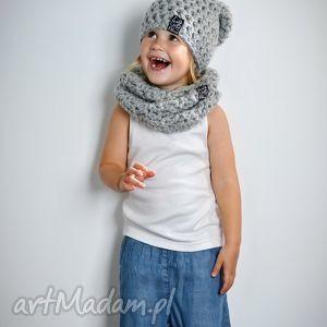 czapka monio 04, czapka, wełna, włóczka, dziecko, szydełko