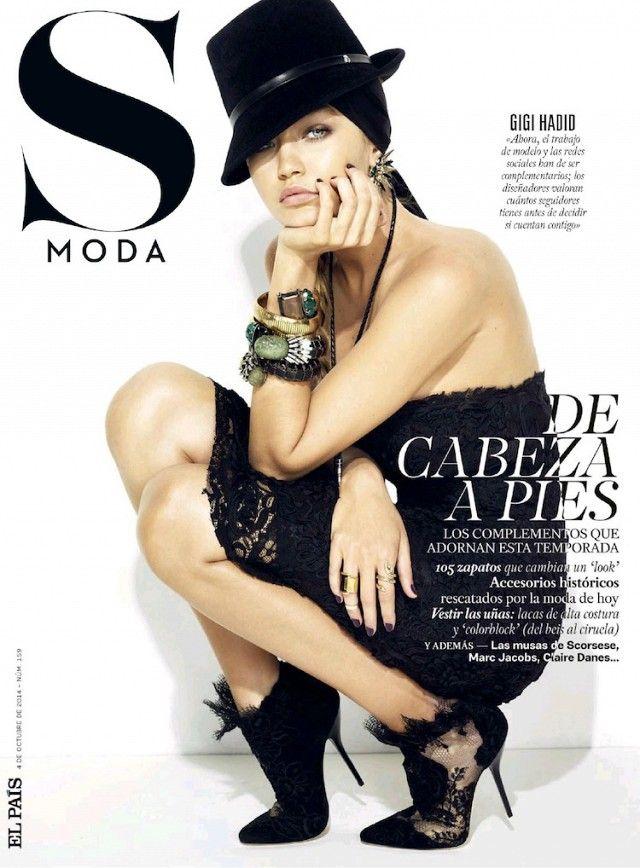 Gigi Hadid Goes Western Chic For S Moda via @WhoWhatWear