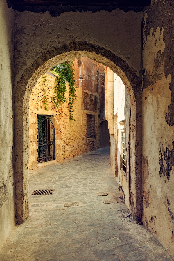 "Old City - Chania, Crete, Greece: ""Way into History... Photography: Alexey Sizov"