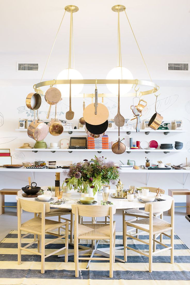 118 best retail design images on pinterest retail design danish chairs and a brass chandelier at boerum house and home