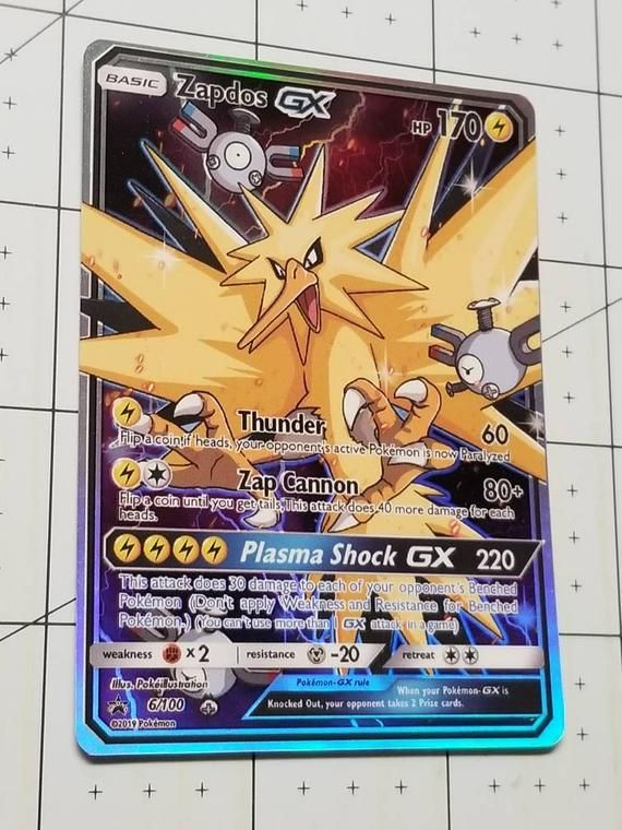 Mecha Jolteon Custom Pokemon Card