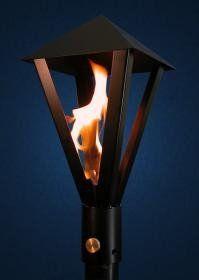 #PT300 6PM Gas Light Style Permanent Mount Patio Light