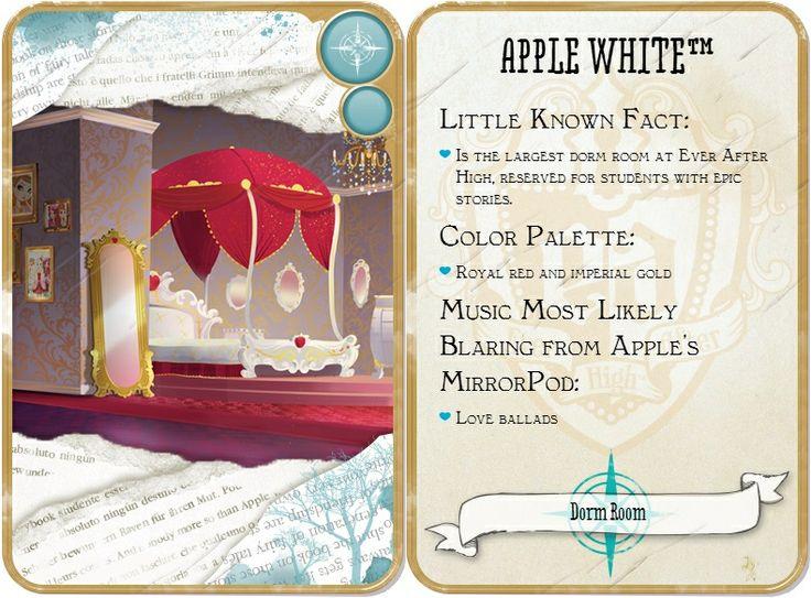 Apple White's Dorm Room | .Ever.After.High. | Pinterest ...
