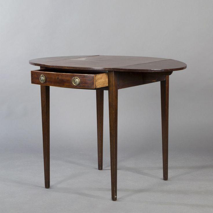 Small Mahogany Folding Table