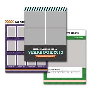 School Yearbook Template (8.5×11)