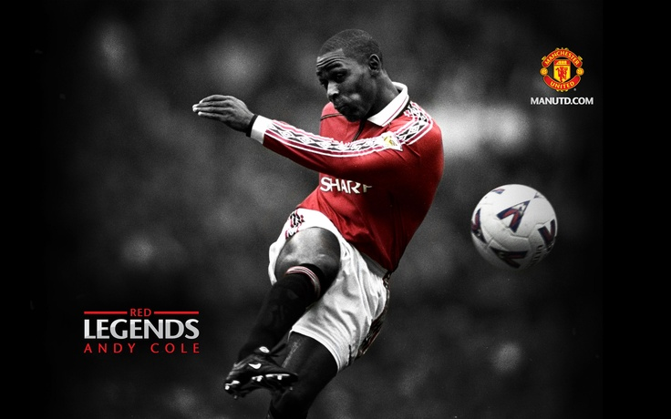 Awesome shot of Andy Cole