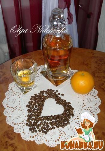 Янтарный цвет, апельсиновый вкус и легкое кофейное послевкусие. Рецепт нашла на каком-то английском сайте.