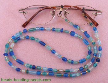 Learn How to Make Lanyards and Create a Beautiful Eyeglass Necklace.
