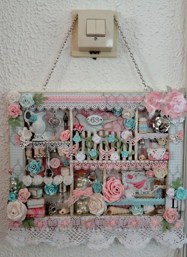 Shabby Chic Configuration Box. Love this, a great idea for my next project.