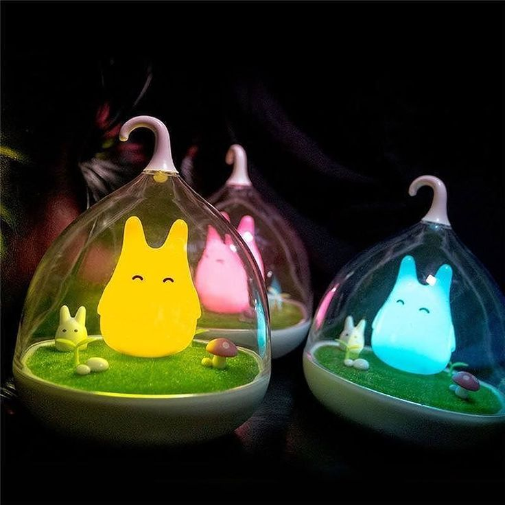 Beautiful Forest Spirit LED Night Light Lamp  3 Colors Available - $24.95 with FREE worldwide shipping!  Buy yours here ---> bit.ly/2eWhpoZ  Featuring an adorable Ghibli-inspired Forest Spirit these cute LED Night Light Lamps are perfect for any room!  Their soft colorful glow is ideal for a nursery or a childs bedroom but equally suited to a living room or den to add a touch of fun!  Includes:  1 x lamp 1 x USB charging cable 1 x user manual  Multi-Buy Offer! Buy 2 and save $2 per item…