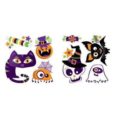 Tatouage temporaire Vive l'Halloween