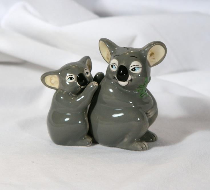 Koalas: Salt Pepper Shakers, Fav Animal, Koalas S P, Koalas Sp, Sp Shakers, Koala Krazy, Koala Salt, Kitchen Collections