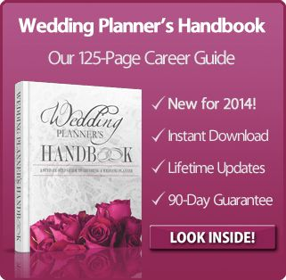 How to Become a Wedding Planner | The Wedding Planner Book