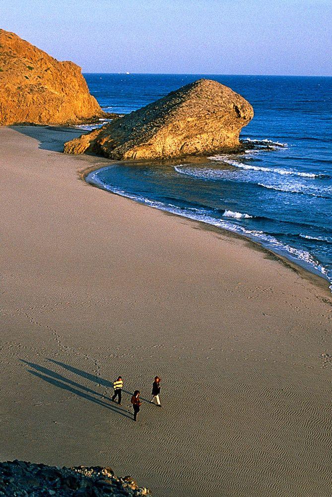 Andalusien Spanien,   playa de MONSUL en Almería