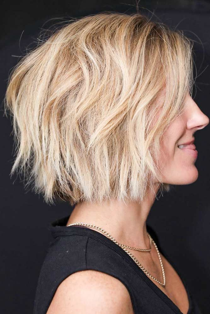 Layered Stacked Bob #layeredbob ★ In case you would like to discover the most popular short layered haircuts, we can ass…