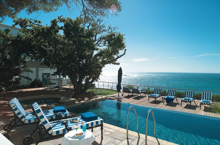 Plan ahead for Summer at the luxurious Twelve Apostles Hotel and Spa in the heart of Cape Town.  #Pool #Luxury #Travel #Beach  www.mtbeds.co.za