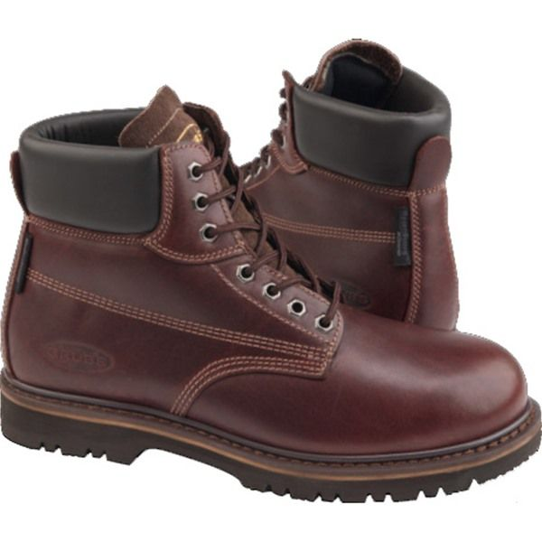 Grubs Leather Typhoon Boot In Dark Brown look great and are functional as well as comfortable.