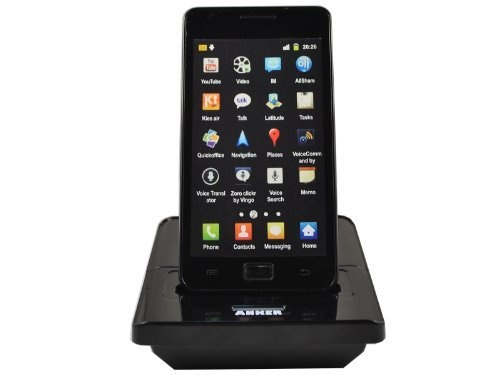 Anker Battery Charger and Data Sync Cradle / Desktop Docking Station with Spare Battery Charging Slot and USB port for Samsung Galaxy S II Galaxy S2 GT-I9100 (NOT Compatible with Sprint galaxy s II Epic Touch 4G, NOT Compatible with AT galaxy s II(SGH-I777), NOT Compatible with T-moblie galaxy s II(SGH-T989)) - Dock Mode enable by Anker. $19.99. Anker - Extend limitsAnker focuses on portable energy field, provides rechargeable batteries, chargers and other accessories fo…
