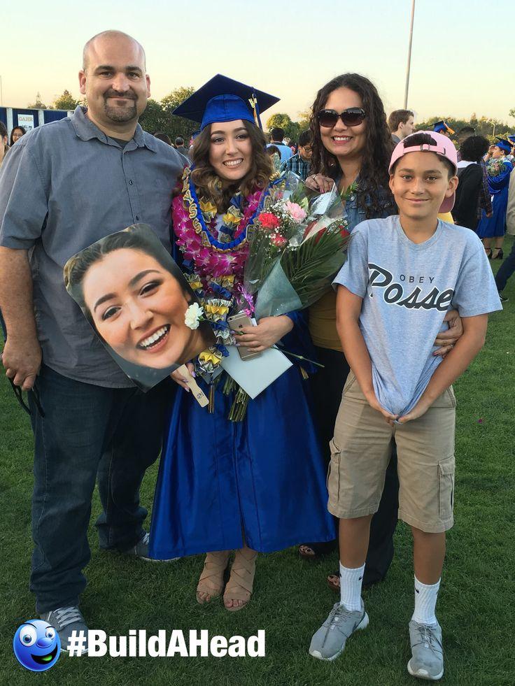 Graduation is right around the corner! Congratulate your grad with big head cutouts!