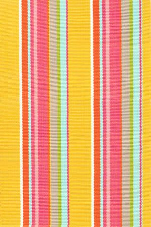 Happy Yellow Stripe Rug - Complete Pad ®