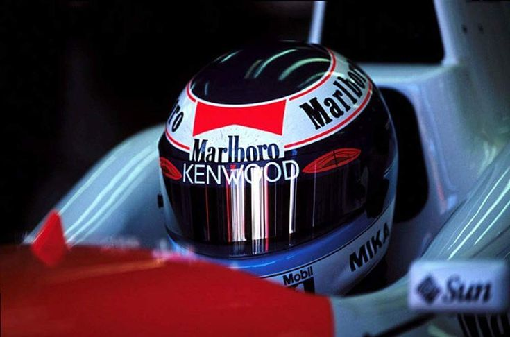 Mika Hakkinen... Marlboro McLaren Mercedes...GP Australia 1996