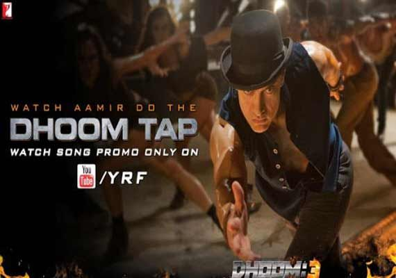 Aamir Khan's latest Dhoom 3 song Tap dance out! (watch video)