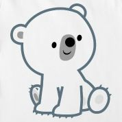 leetle baby powlar bear