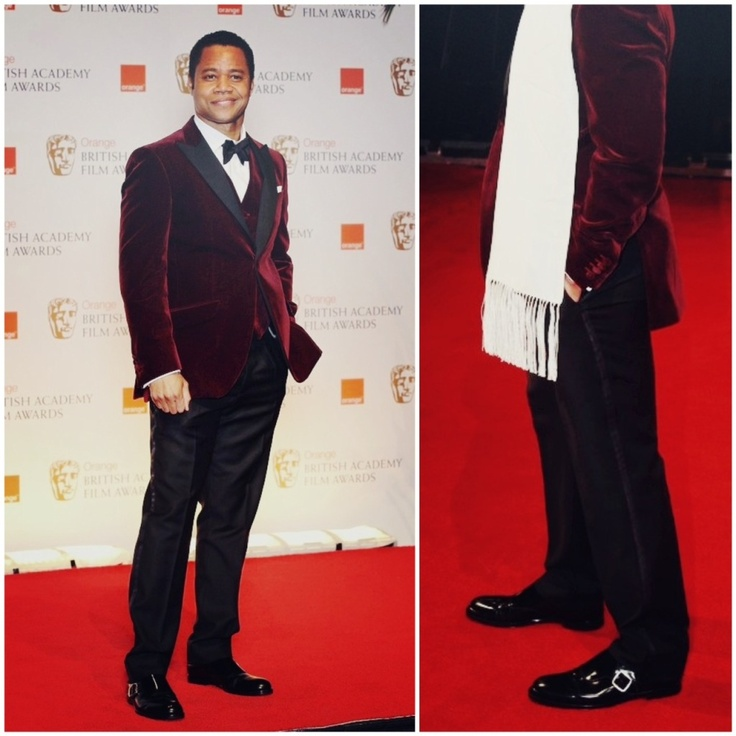 Cuba Gooding Junior wearing Choo 'Holborn' Monk Straps. That's one slick motherfucker.