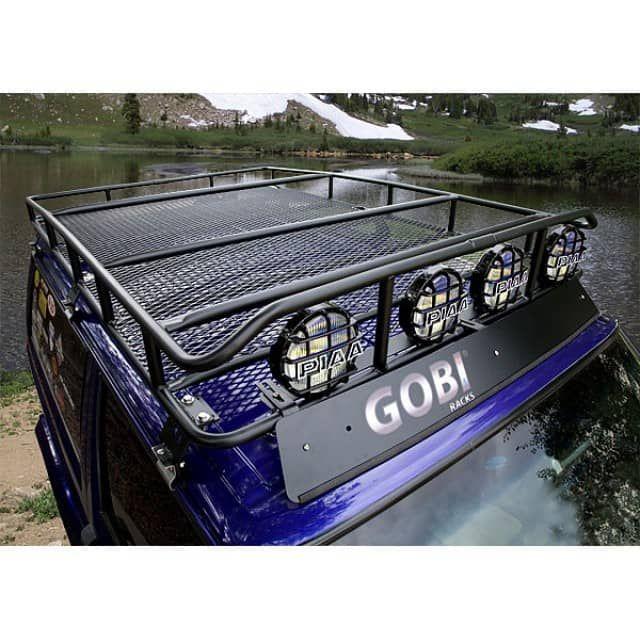Gobi Jeep Cherokee XJ Ranger Roof Rack - Trail Duty