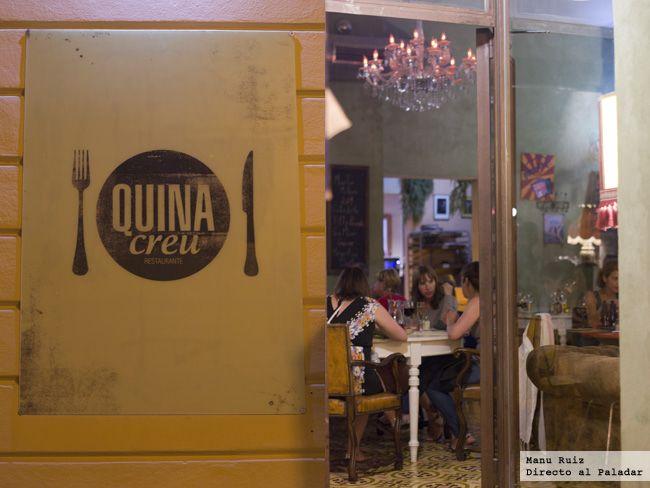 Quina creu. Maybe the best restaurant. Ever. Palma de Mallorca