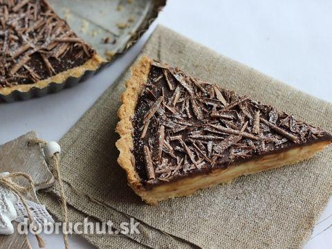 Fotorecept: Čokoládovo-vanilkový koláč