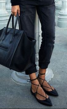 No boring buys here. via 13 Ballet Flats That Are Anything But Basic SHOES  by Michelle Scanga c2432a2d9580