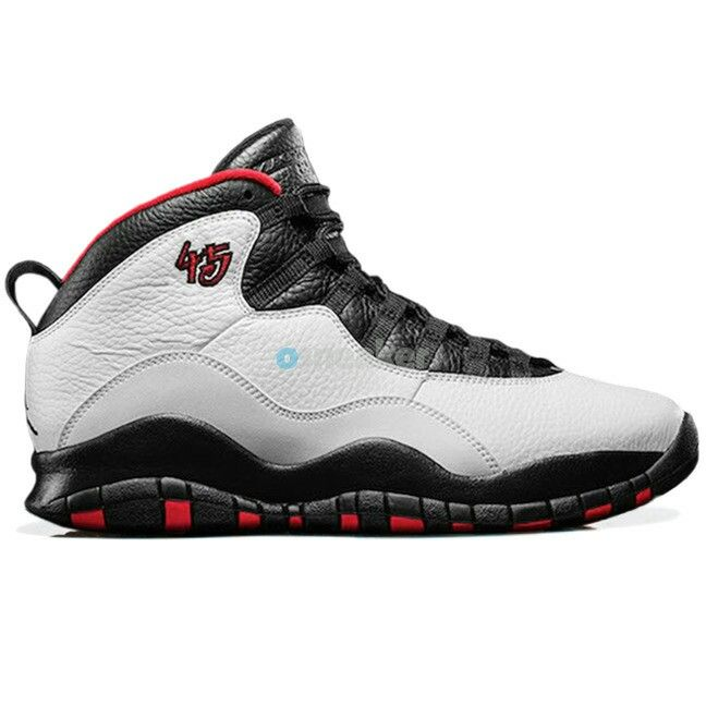 Authentic Air Jordan 10 Retro OG Double Nickel White Varsity Red-Black from  Reliable Big Discount!