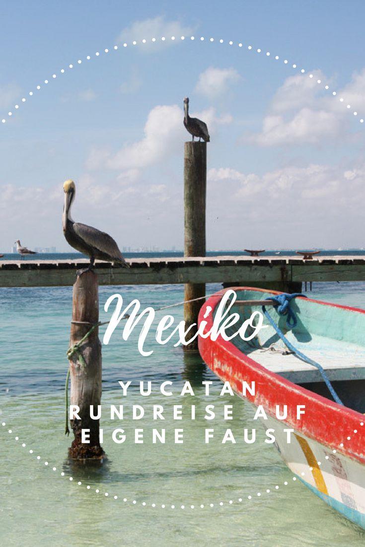 Unsere Rundreise durch Mexiko / Yucatan auf eigene Faust. Erste Fernreise mit Kind. #Fernreise #Reisetipps #Rundreise #Yucatan #Mexiko #Urlaub #Tulum