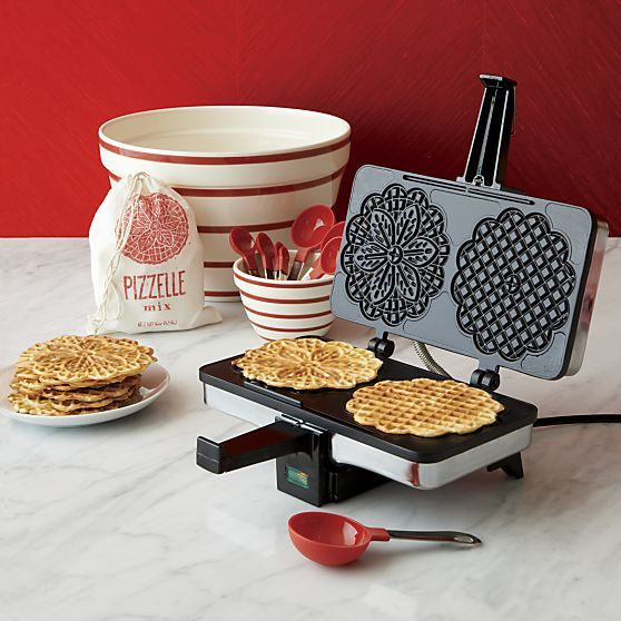 CucinaPro Nonstick Pizzelle Maker in Specialty Appliances | Crate and Barrel