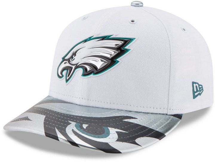 New Era Philadelphia Eagles Low Profile 2017 Draft 59FIFTY Cap