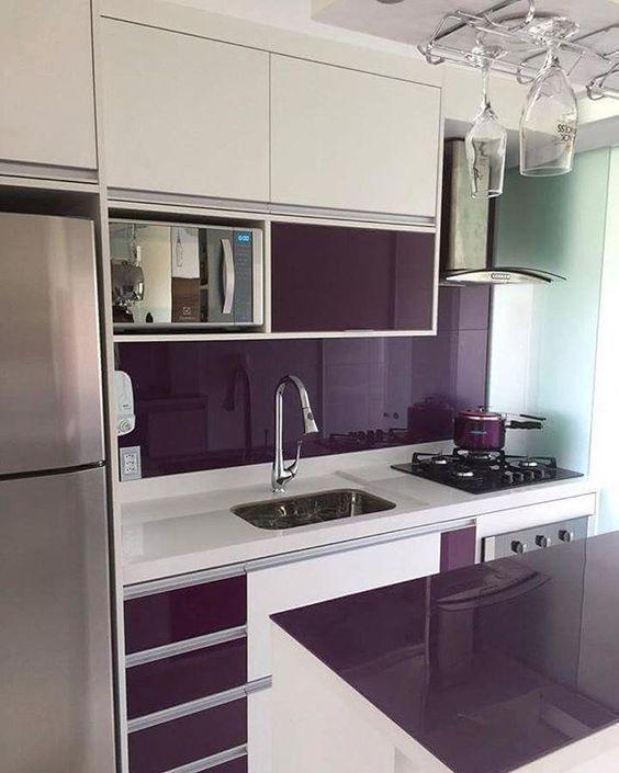 M s de 25 ideas incre bles sobre cocinas integrales - Disenos de cocinas pequenas y sencillas ...