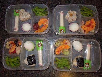 Yummy Lunch Ideas - Yummy Lunch Box Gallery - Easy Lunch Boxes, Bento Lunches   SmugMug: Easy Lunches, Kids Lunches, Friends Order, Schools Lunches, Boxes Ideas, Boiled Eggs, Lunchbox Ideas, Lunches Boxes, Lunches Ideas