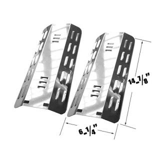 Grillpartszone- Grill Parts Store Canada - Get BBQ Parts, Grill Parts Canada: Dyna Glo Heat Plate   Replacement 2 Pack Stainless...