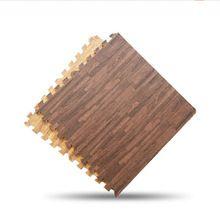 9pcs (30*30cm)Imitation Wood Foam Exercise Floor Mats Gym Garage Kids Play Mats(China (Mainland))
