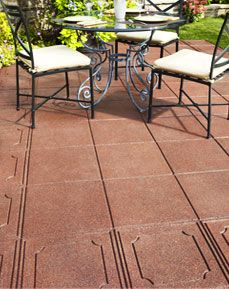 Envirotile Pavers    Love This To Lay Over Concrete Patio. Higher Slip  Resistance, Cushier For Little Runners, And Recycled!