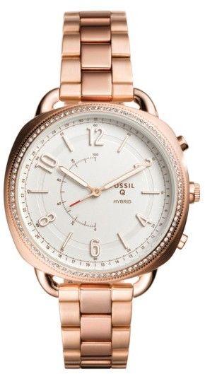 Women's Fossil Q Accomplice Smart Bracelet Watch, 38Mm