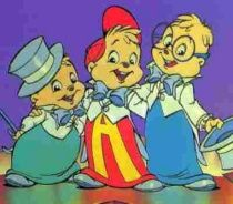 Alvin and the Chipmunks, before they were ruined with CG